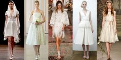 12 Short Dresses for the Alternative Bride  - ELLE.com
