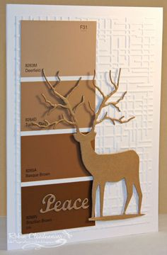 Maybe use the paint chip samples from the colors of our home too make some Home Sweet Home Art.
