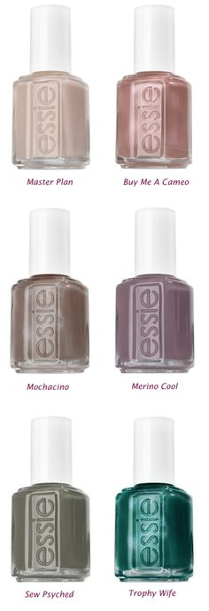 Essie....in my opinion...the very BEST polish for natural nails. actually lasts.