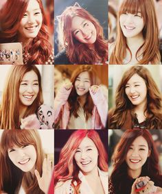 Tiffany has such a nice smile and eye smile. : )