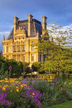 The Louvre Museum, historic monument,Paris