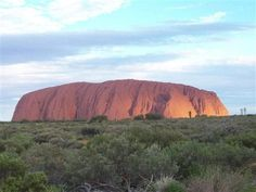 Uluru (Ayers Rock), Australia (2009) with Maria