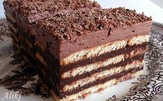 Mamina jela: Čokoladna keks torta