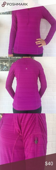 Athleta Pullover Excellent condition, half zip light weight pullover. Perfect for pre or post workout or running errands. Athleta Tops