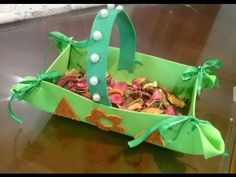 Creative Ideas : How to Make a Foam Basket | How to Make a Foam Basket  ...