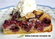Kleiner Kirschkuchen Schwarzwälder Art - 20cm Springform Sacher Torte Recipe, Cake Recipes, French Toast, Pie, Sweets, Breakfast, Desserts, Food, Banana Cake Recipes