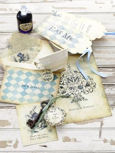 Stationery Design for Wedding Album Magazine - all things love.ly