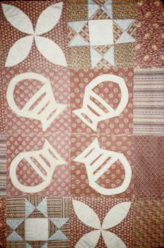 Friendship quilt detail  1844