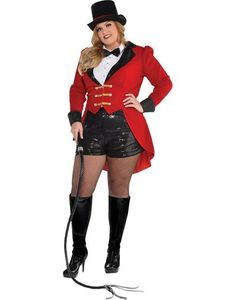 Adult Circus Ringmaster Costume Plus Size - Party City