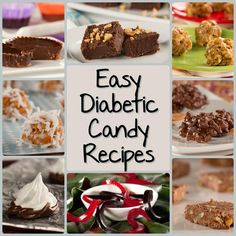 Easy Candy Recipes: 8 Diabetes Candy Recipes Everyone Will Love | EverydayDiabeticRecipes.com