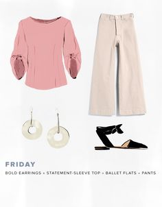 Women can't get enough of these flattering high-waist pants. Find out more about them and how to style them for work, here.