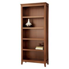 Threshold™ Carson 5 Shelf Bookcase @Jeanette Raynor not sure of the height but i like this book shelf from target
