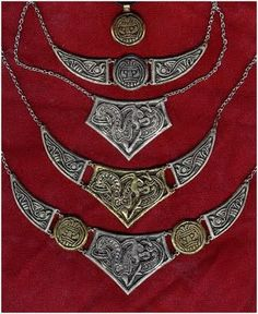 Vault of Valhalla - Viking, Celtic and Anglo-Saxon Inspired Jewelry...I'd need a place to wear these too but so love these