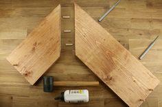 Tuto: une étagère d?angle murale 7                                                                                                                                                                                 Plus