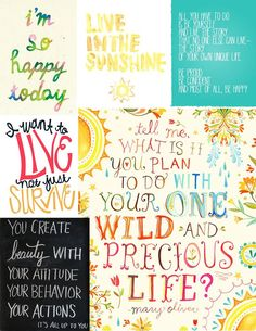 Happy quotes for Flourish