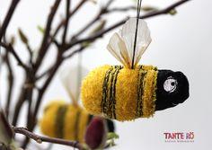 Biene Brigitte von Tante Rö auf DaWanda.com