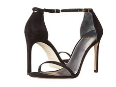 Stuart Weitzman Bridal & Evening Collection Nudistsong Black Suede - Zappos.com Free Shipping BOTH Ways