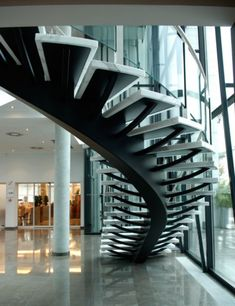 1000 images about escalier m tal verre on pinterest stairs spiral staircases and staircases. Black Bedroom Furniture Sets. Home Design Ideas