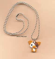 necklaces Gizmo Gremlins kawaii cute polymer by AudreyPinkStyle, €15.00