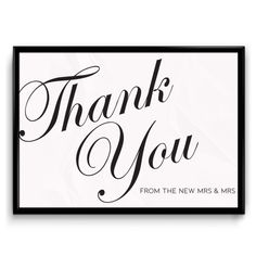 Mrs & Mrs  printable Thank you Sign for a same sex wedding http://www.bemyguest.co.nz/product/thank-you-from-the-new-mrs-mrs-sign-same-sexlesbian-wedding/