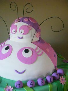 Gâteau d'anniversaire, cocci et sa maman