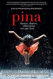This documentary by Wim Wenders looks at the modern dance of German choreographer Pina Bausch.  The best 3D that I have seen.
