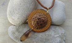Untitled | by katerina66 Polymer Clay Crafts, Pendant Necklace, Jewelry, Fimo, Jewlery, Bijoux, Schmuck, Jewerly, Jewels
