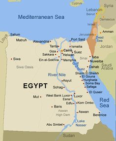 22 Best Egypt map images