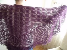 Ravelry is a community site, an organizational tool, and a yarn & pattern database for knitters and crocheters. Knitted Shawls, Crochet Shawl, Knit Crochet, Shawl Patterns, Knitting Patterns, Knitting Ideas, Knitting Projects, Crochet Projects, Crochet Embellishments