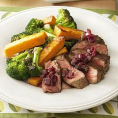 Dr Oz Diet Recipes – Pepper-crusted steak with roasted veggies | best stuff www.greennutrilabs.com