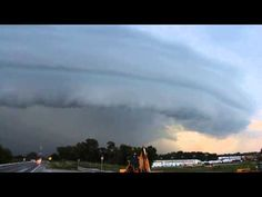 "Rare Supercell over Greencastle Pennsylvania July 2014 - A magnificent ""Mothership"" cloud."