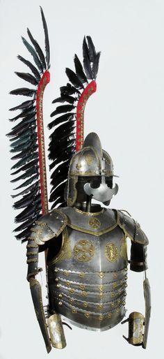 Half armor for a hussar by Anonymous from Poland, mid century, Muzeum Wojska Polskiego Renaissance, Armor Clothing, Knight Armor, Arm Armor, Medieval Armor, Art History, Poland History, Anglo Saxon, 17th Century