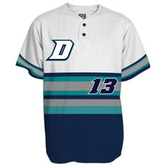 0bcd7726b DESIGN YOUR OWN: Custom Sublimated, 2-Button Throwback style baseball  jerseys for your