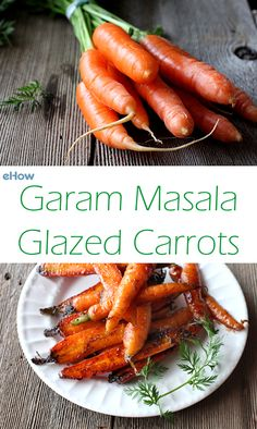 Spice up your carrots, literally! Garam Masala Carrots are delicious.