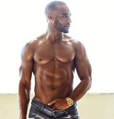You like good looking men? We do too. — ohmyfineassmen: Meet David Terrell