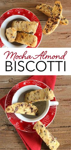 Mocha Almond Biscotti, an easy and delicious Italian cookie recipe. The combination of almonds, coffee and chocolate make it the perfect holiday cookie. This easy biscotti recipe is perfect to add to your Christmas cookie collection, and give as gifts to friends and family! | anitalianinmykitchen.com #mocha #almond #chocolate #coffee #biscotti #italian #christmascookie Single Serve Desserts, Desserts For A Crowd, Winter Desserts, Great Desserts, Party Desserts, Low Carb Desserts, Delicious Desserts, Hot Fudge Cake, Hot Chocolate Fudge