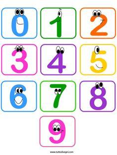 Contrassegni con i numeri