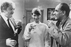 Michael Gambon, Glenda Jackson and Ben Kingsley in Turtle Diary, 1985