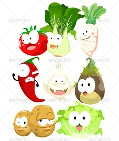 Toon Vegie Pack Three  #GraphicRiver         The big family pack of cute vegetables such as Tomato, Romaine green lettuce, white radish, chili, onion, bamboo shoot, potatoes brother,ready to use.     Created: 20October12 GraphicsFilesIncluded: VectorEPS Layered: No MinimumAdobeCSVersion: CS Tags: bamboo #botanical #cabbage #cartoon #character #chibi #children #chili #cute #eps #food #fruit #garlic #green #jalapeno #kid #lettuce #plant #play #potato #raddish #radish #shoot #tomato #toon…