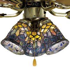 Tiffany Light for Ceiling Fan