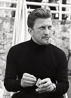 Leading with his chin: Kirk Douglas at the festival in 1953