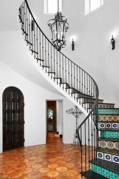 treppenideen wandtapeten treppenhausgestaltung ...