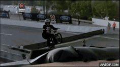 This flipping amazing BMX rider: