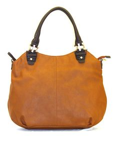 Take a look at this Tan Layla Tote by Robert Matthew on #zulily today!