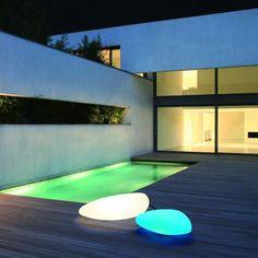 Fancy - Stone Floor Light by Helestra