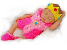 Baby Princess Pink Peach outfit @ gugagii.etsy.com, starting at just $35.99! #babyphotoprop #babyshop