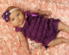 choose COLORLace Petti Romper & Headband baby girl por LillyBowPeep