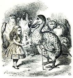 John Tenniel. Alice Meets the Dodo. 1865