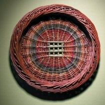Over-and-under: baskets weaving: Special Skib by Joe Hogan
