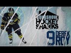 "Gongshow Hockey Shacks:Derek Roy (Part 1 of Shack"" Gongshow Hockey, Hockey Players, Number One, Baseball Cards, Lifestyle, Videos"